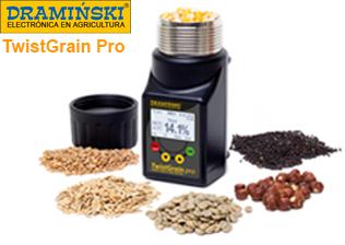 Draminski ® Higrómetro Humidímetro TwistGrain Pro