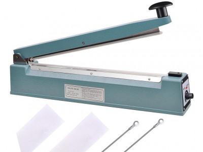 "PFS-400 Selladora de Impulso Manual de 400mm o 16"" - Sello: 2mm"